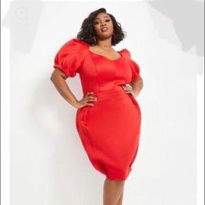 SEXY RED DRESS 22/24